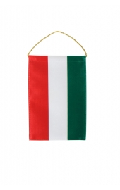 Hungarian flag car rearview mirror