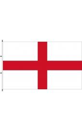 Carabined horizontal England flag