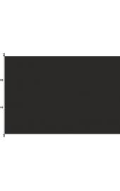 Carabined horizontal Bereavement flag