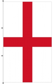 Carabined standing England flag