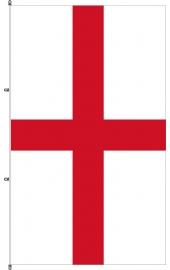 Carabined standing England flag