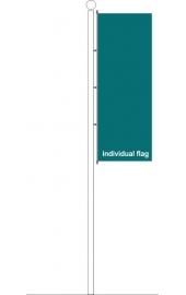 Carabiner standing individual flag