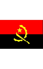 Angola national flag