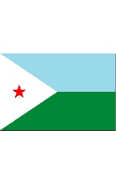 Djibuti Islands national flag