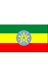 Etiopia national flag