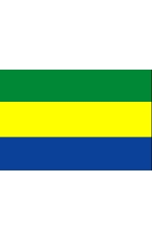 Gabon national flag