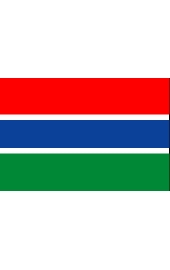 Gambia national flag