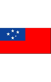 West Samoa national flag