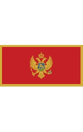 Montenegro National flag