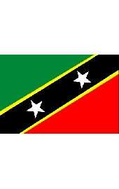 St. Kitts and Nevis national flag