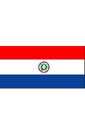 Paraguay national flag