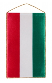 Hungarian flag without crested