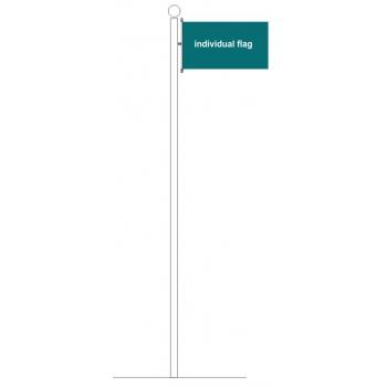 Carabiner horizontal individual flag