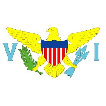 American Virgin Islands national flag