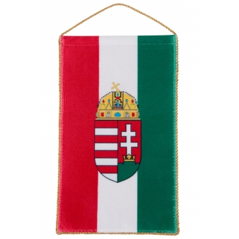 Crested Hungarian Table flag